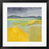 Golden Valley II Framed Print