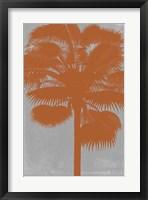 Chromatic Palms IV Framed Print