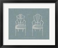 Framed Hepplewhite Chairs III