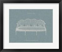 Hepplewhite Sofas I Framed Print
