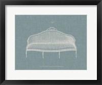Framed Hepplewhite Sofas IV