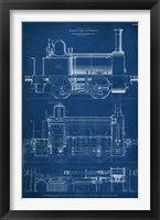 Framed Locomotive Blueprint II