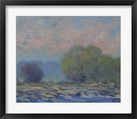 Framed James River from Belle Isle I