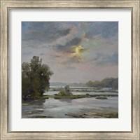 Framed James River from Belle Isle II