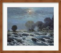 Framed Moon Rapids