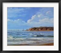 Framed Point Loma - View from Coronada Shores