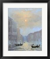 Framed Venice Morning Mist