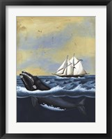 Whaling Stories II Framed Print