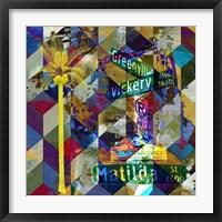 Greenville & Matilda - Dallas Framed Print