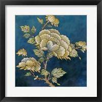 Eastern Floral I Framed Print
