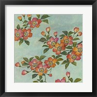 Eastern Blossoms II Framed Print