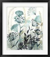 Allayed Floral I Framed Print