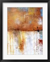 November Rain II Framed Print