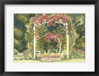 Aquarelle Garden IV Framed Print