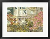 Framed Aquarelle Garden V