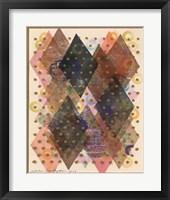 Framed Inked Triangles I