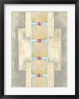 Framed Squares in Line II