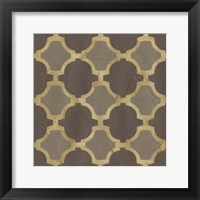Golden Trellis II Framed Print