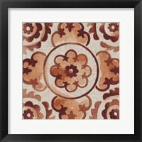 Elemental Tiles I Framed Print