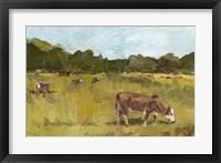 Rural View I Framed Print