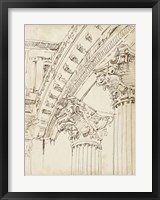 Architects Sketchbook IV Framed Print