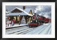 Framed Christmas Station