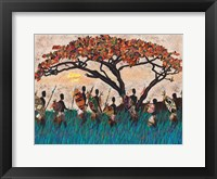 Framed Hunting Party