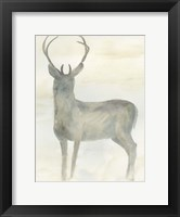 Framed Solo Deer 2