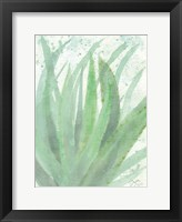 Into Green 2 Framed Print