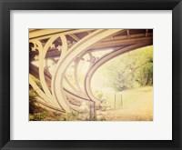 Framed Central Park Mile Bridge