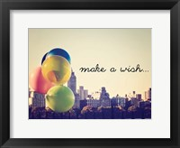 Framed Make A Wish NYC