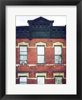 Framed West Side Building