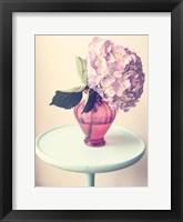 Hydrangea Table Framed Print