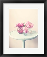 Flower Table 3 Framed Print