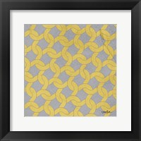 Lattice 2 Framed Print