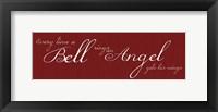 Bell Rings No Bell Framed Print