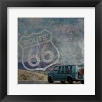 Route 66 Van Framed Print