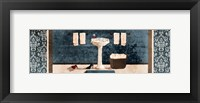 Relaxing Wash Framed Print