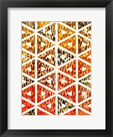 Framed Triangular Animals Bright