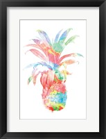 Framed Colorful Pineapple Clean