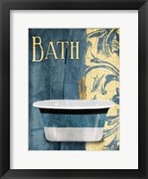 Tub Bath Framed Print