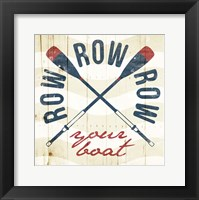 Row Your Boat Framed Print