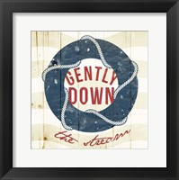 Gently Down The Stream Framed Print