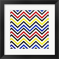 Framed Pop Chevrons