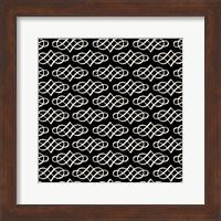 Framed Vintage Pattern Reverse