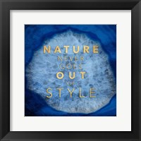 Framed Nature Style