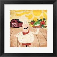 Framed Farming Chef