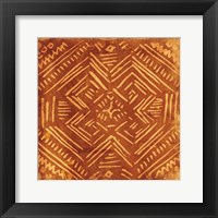 Tribal Sketch Framed Print