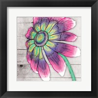Fun Time Flower Framed Print
