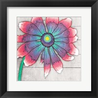 Fun Time Flower Mate Framed Print